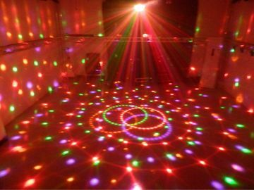 Glob efete LED pete de culoare superbe model deosebit & muzica