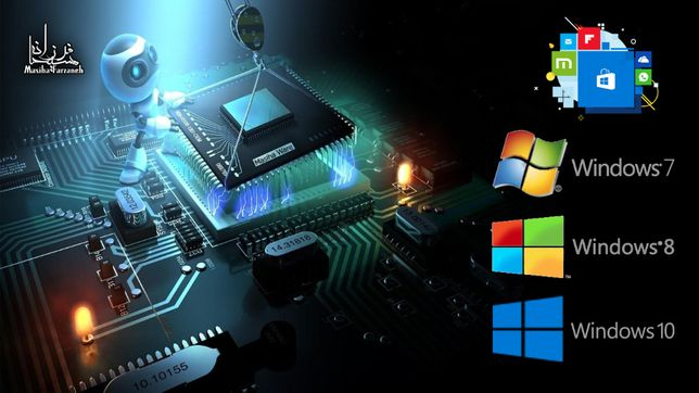 Instalare windows, asamblare, curatare, laptop, pc
