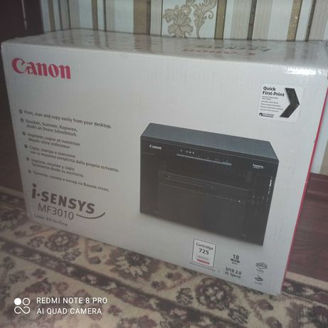Принтер 3 в 1,сканер,ксерокс
