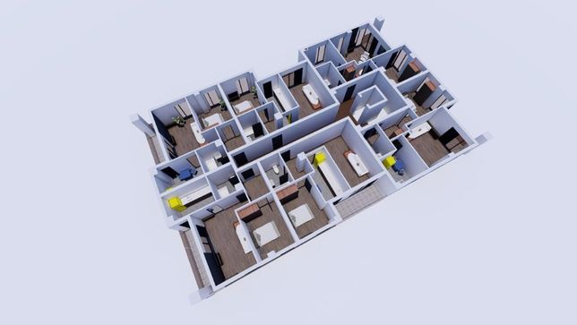 Comision 0% / Tomis Plus - Elvila / Apartamente de vanzare 2 camere