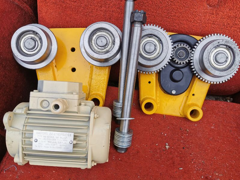 Резервни части за въжен и верижен телфер гр. Габрово - image 1
