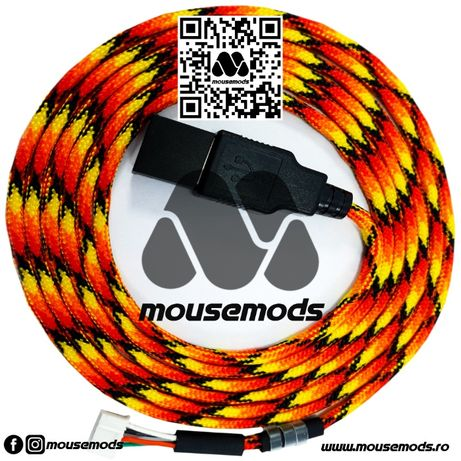 Glorious Model O / -O / D Cablu mouse Paracord EZcord Gaming