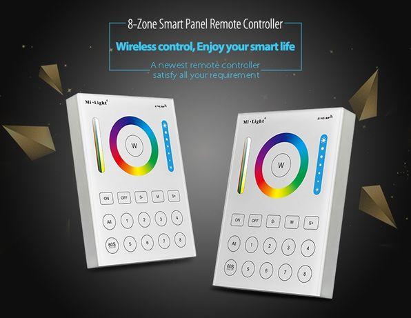 Milight MiBoxer CONTROLLER Smart Panel 8 Zone RGBW + CCT B8 WIFI