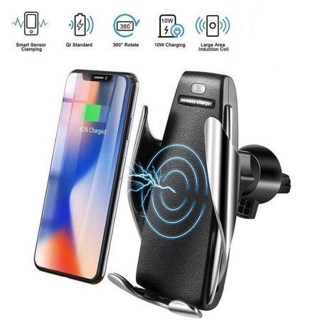 Suport telefon cu senzor miscare si incarcare wireless