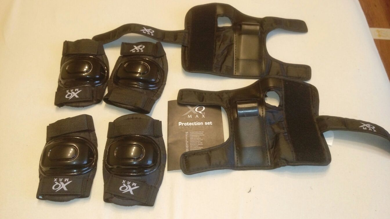 Protectie palme, coate, genunchi.(pentru copil 5-8 ani)