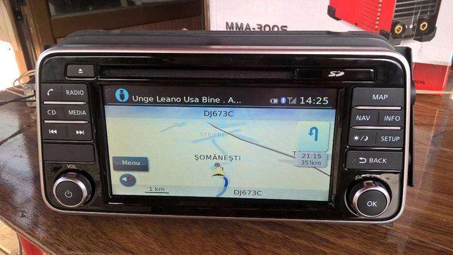 navigatie originala Nissan micra 2017 full eu cu usb, bluetoth, net