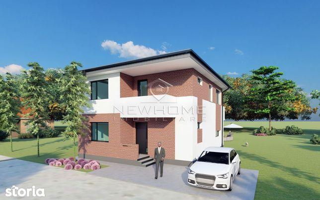 Casa Individuala Parter+Etaj, 120 mp utili + teren 500 mp.