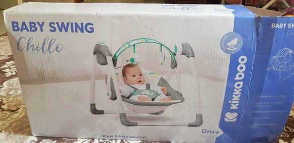 Музикална бебешка люлка не е  използана
