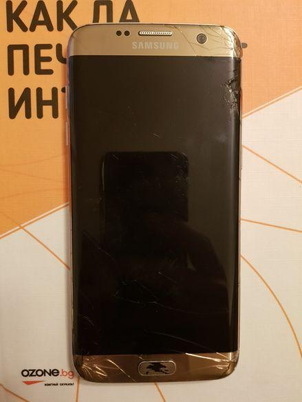 Samsung S7 EDGE Самсунг С7 Едж 32гб 32gb gold голд златен