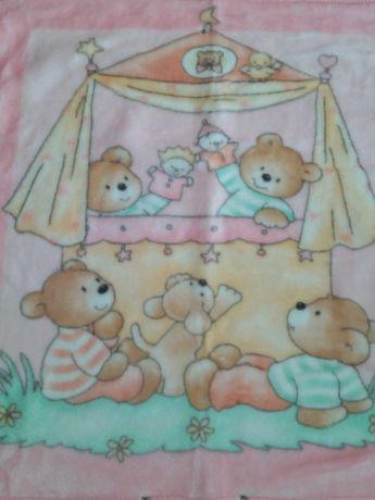 Топли бебешки одеяла