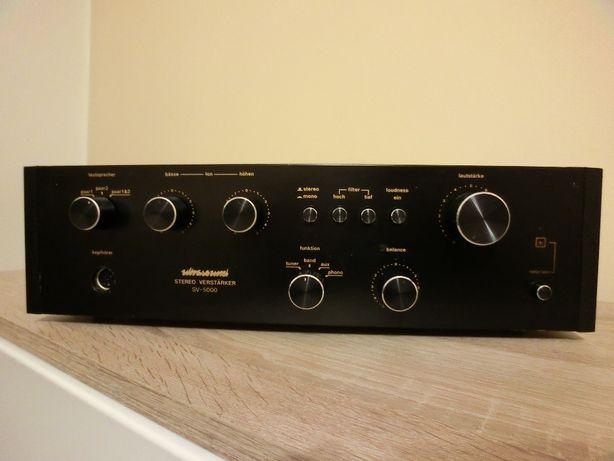 """Amplificator vintage ULTRASOUND SV-5000 din anii 78""""."""