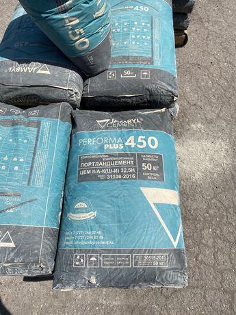 Джамбульский цемент в бумажных мешках М400 и М500 г.Караганда