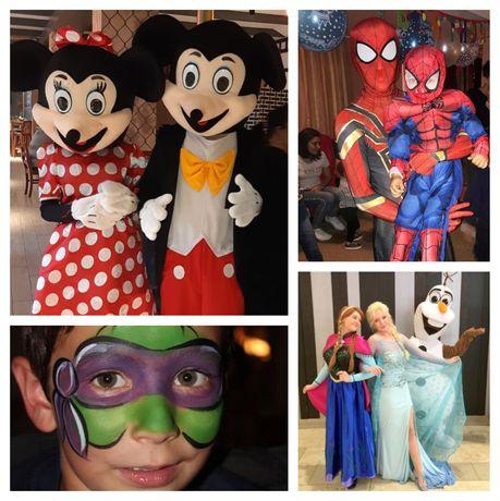 Animatori copii - Animatori petreceri copii - Mascote Mickey & Minnie