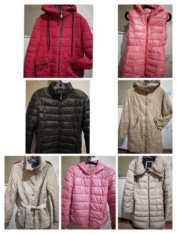 Продам куртки, размер от 42-48