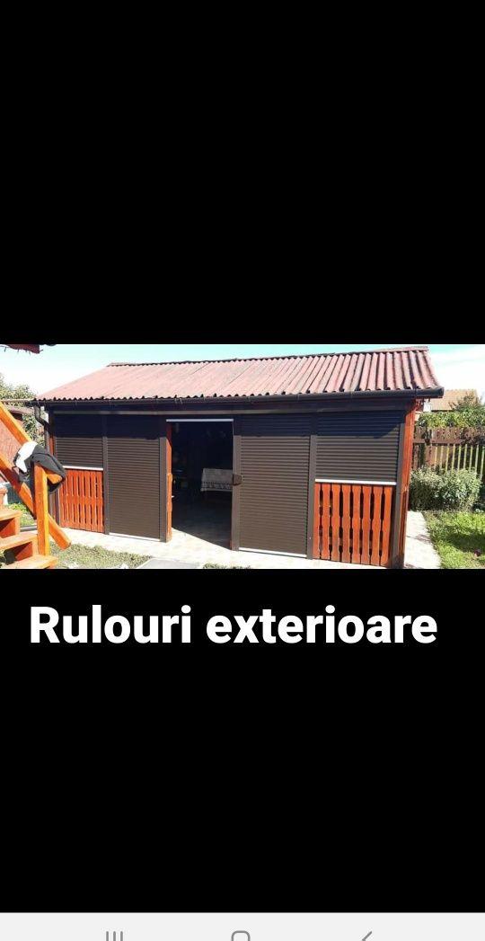 Usi garaj Rulouri exterioare