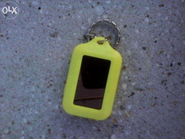 Lanterna miniatura, cu acumulator si celule solare, tip breloc - 3 LED