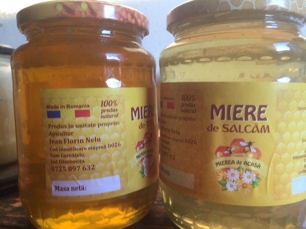 Miere bio ! miere salcam produs 100% natural