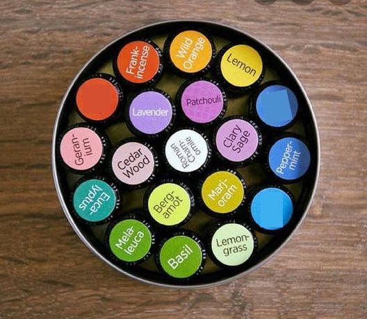Дотерра - етерични масла-2,5 или 15 мл