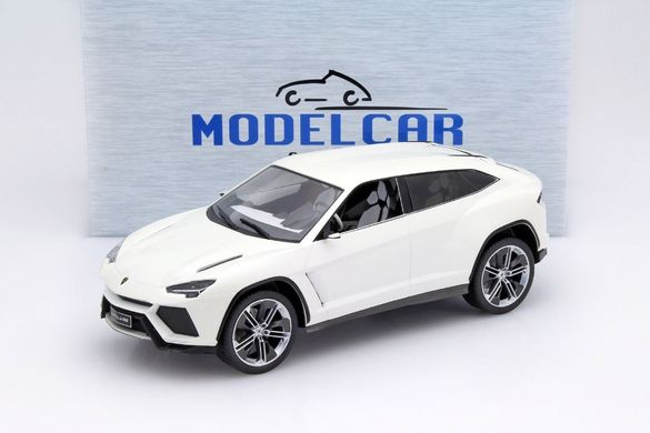 Количка Метална Lamborghini Urus White Metallic 1:18 Model Car Group