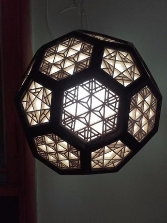 Corp iluminat Lustra tip kumiko -japonia.