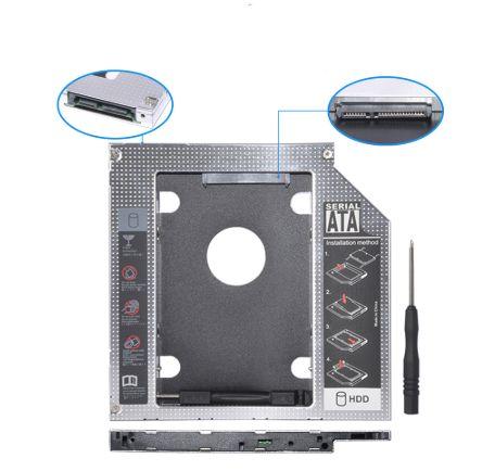 Конвертор caddy SATA към SATA HDD bay 12.5mm