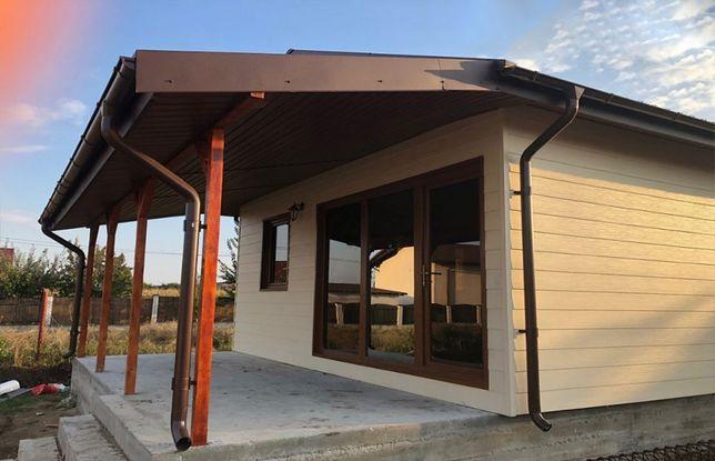 Construim containere modulare tip casa, birou, hale din panou sandwich