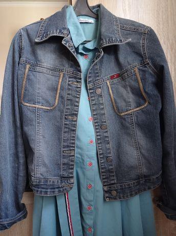 ПРОДАМ!!!Джинсовая куртка турецкого производства