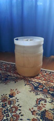 Бочка  плассмас   для  воды,  засолки