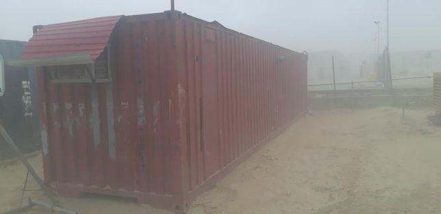 Продам контейнер 40ф бытовка