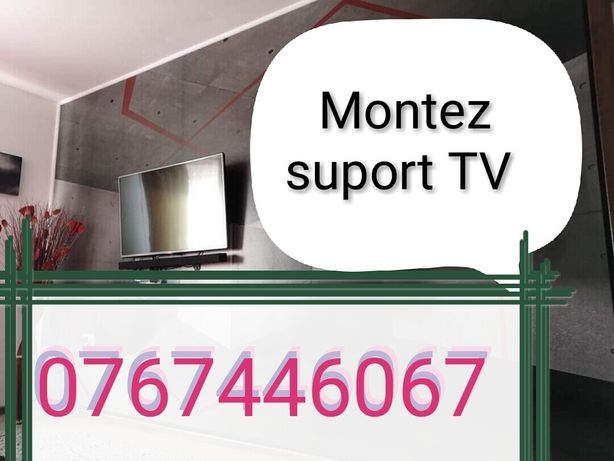 instalator suport tv,montator tv,montator suport tv,instalare tv