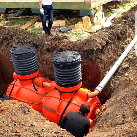 Септик, системы биологической очистки сточных вод Биосток