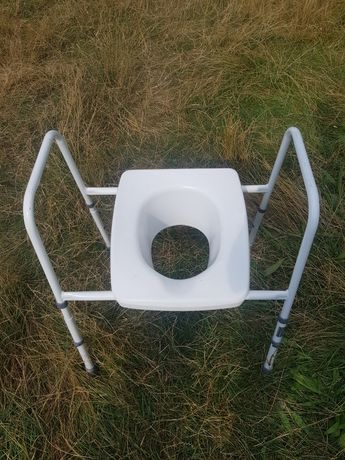 Scaun ajutator wc toaleta bolnavi dizabilitati picior rupt