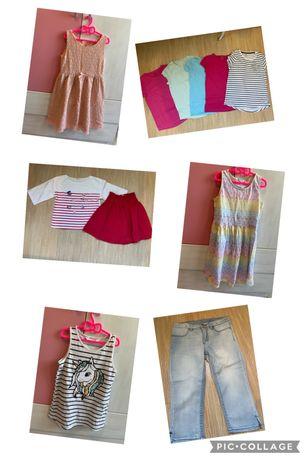 Летни дрехи за момиче Н&М 134/140