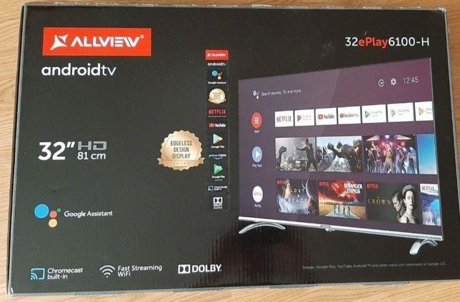 """Tv smart Led Android 32"""" HD,comandă vocală,Inregistrare video,Garanție"""