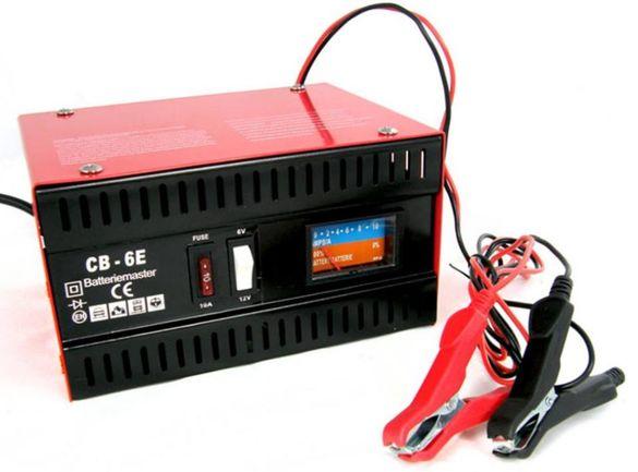 НОВ с ГАРАНЦИЯ! Зарядно за акумулатор - 6/12V 10A зарядно за акуулатор