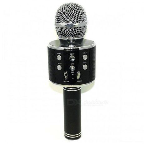 Беспроводной Bluetooth караоке микрофон со встроенной колонкой WS-858