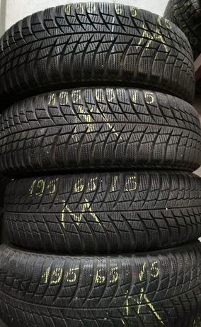 195/65/15 Bridgestone - cauciucuri de iarna, stare foarte buna
