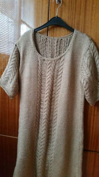 Плетена рокля -туника