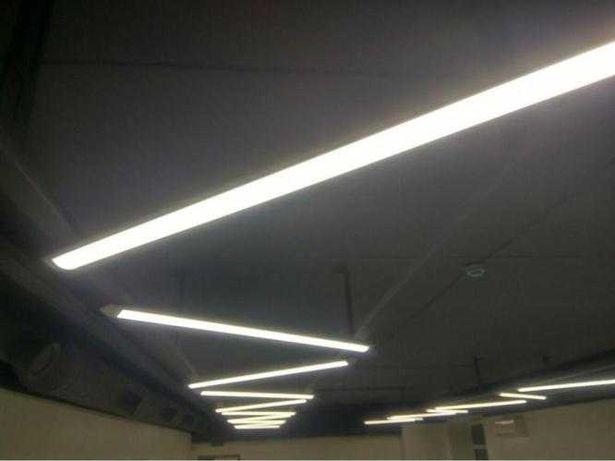 Светильник светодиодный линейный LED лампа плафон T5 T8 T12 панель