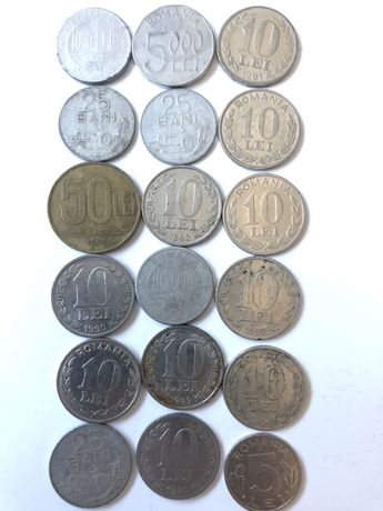 Monede vechi 5 lei bucata