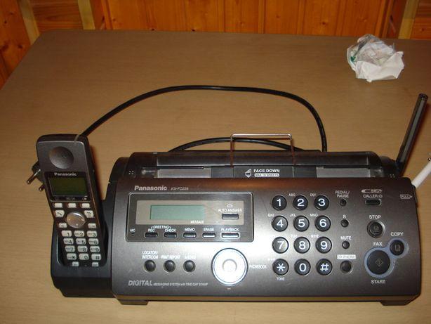 fax cu telefon panasonic kx fc 228