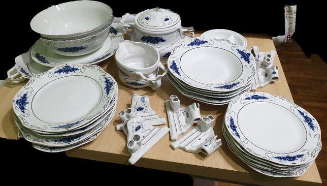 Stipo Dorohoi Servicii de masa portelan Model albastru de Voronet