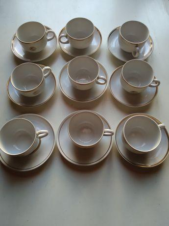 Сервиз за кафе чаши чинии Интурист