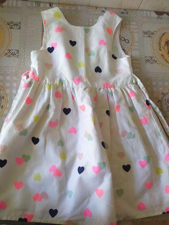 Летнее платье на 4-5 лет