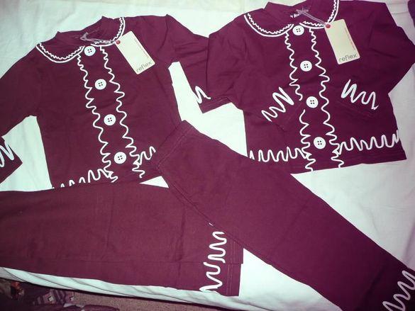 НОВИ пижамки за близнаци, р. 98/104