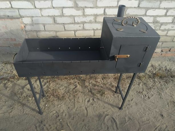 Продам мангал с печью для казана