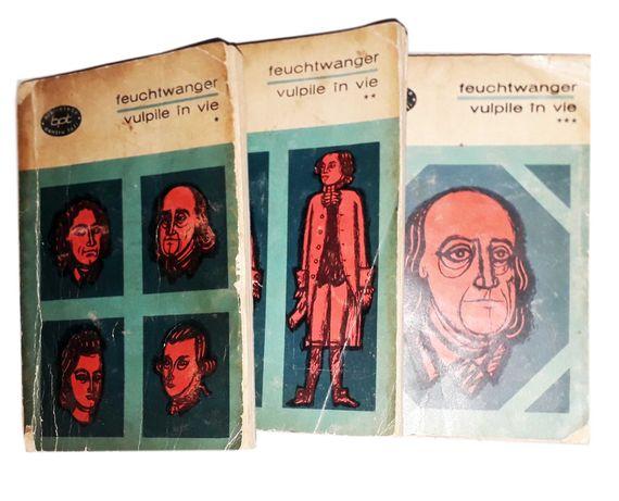 Vulpile in Vie, roman in 3 volume