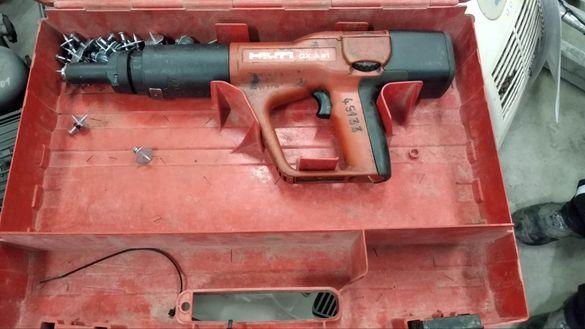 Пистолет за пирони бетон метал Hilti под наем от Рентекс