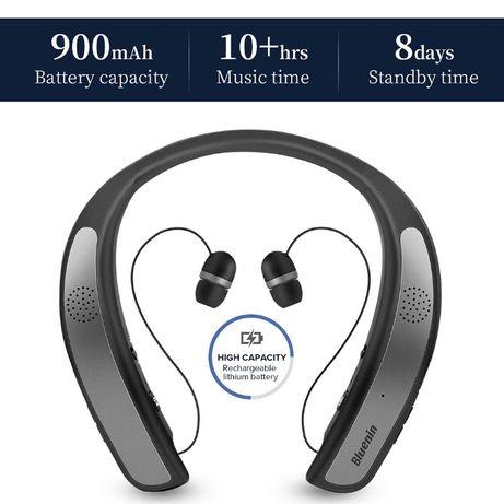 Bluetooth слушалки 2 в 1 Headphones & Speaker IPX4 True 3D