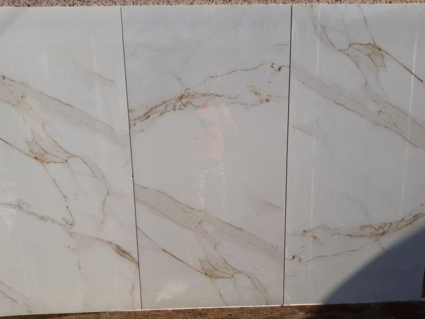 Gresie Mercury White 120x60 rectificata si portelanata